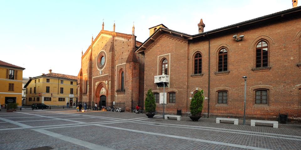 Mortara, the piazza del Duomo © Alberto Jona Falco