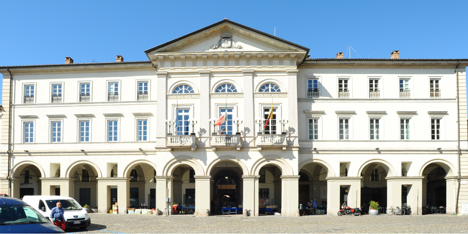 Voghera, the Town Hall  © Alberto Jona Falco