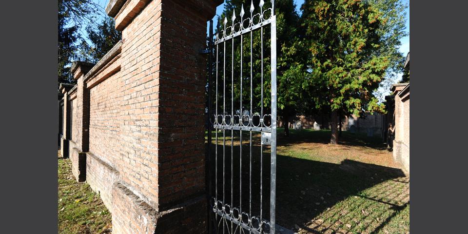 Pomponesco entrata del cimitero © Alberto Jona Falco