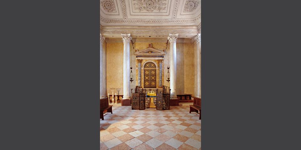 Sabbioneta, the synagogue © Alberto Jona Falco