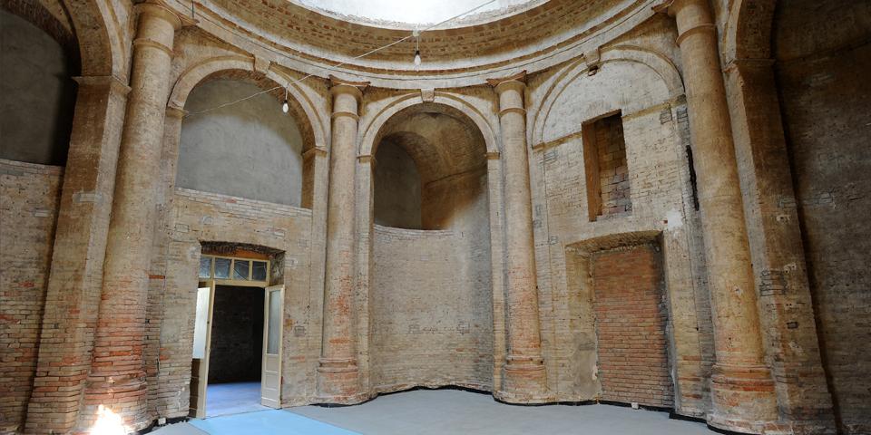 Viadana l'interno della sinagoga © Alberto Jona Falco