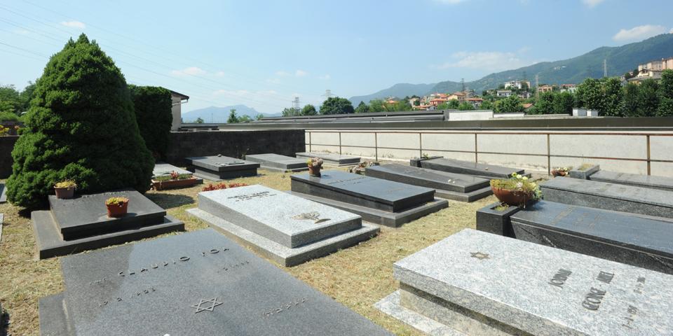 Como, Monte Olimpino Jewish cemetery  © Alberto Jona Falco
