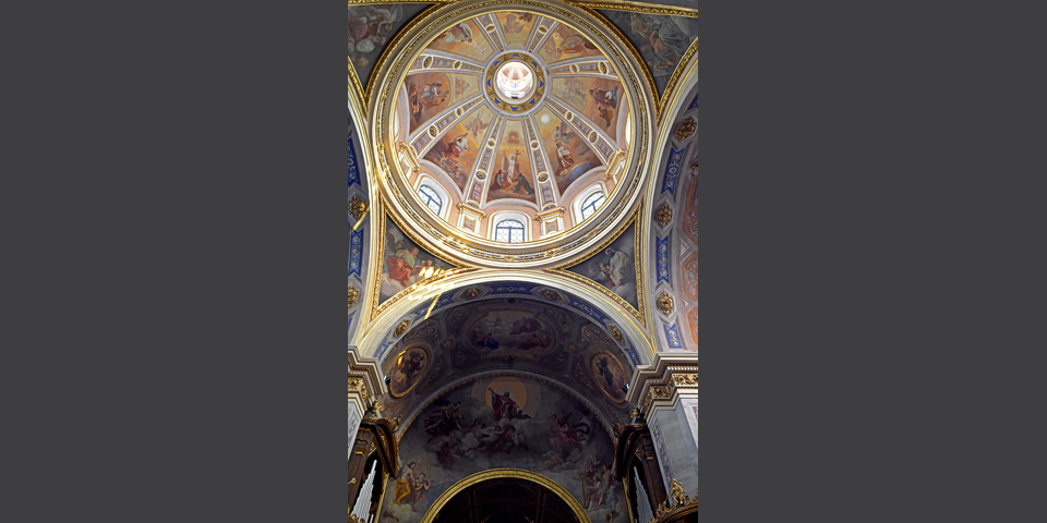 Vigevano, interior of Sant'Ambrogio Cathedral in Vigevano © Alberto Jona Falco