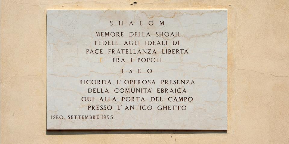 Iseo, memorial tablet, detail © Alberto Jona Falco