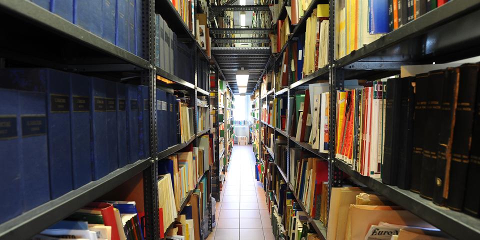 Milan CDEC library © Alberto Jona Falco