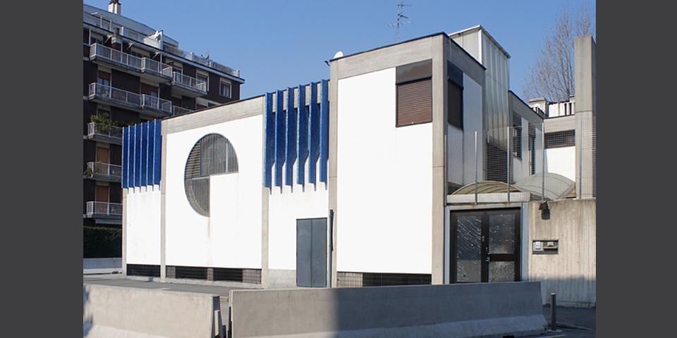Milan exterior of Noam Synagogue © Alberto Jona Falco
