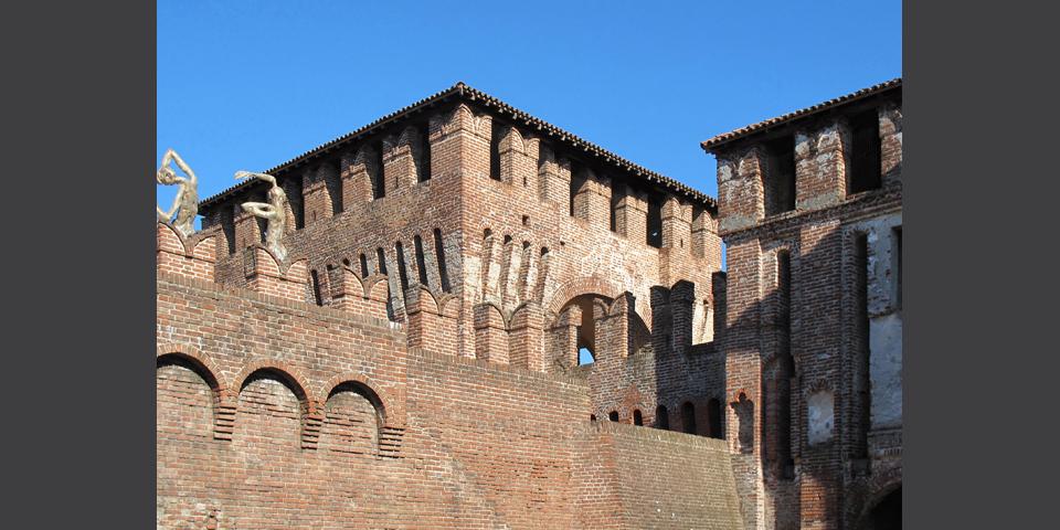 Soncino, view of the Rocca © Alberto Jona Falco