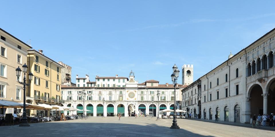 Brescia piazza dela loggia © Alberto Jona Falco
