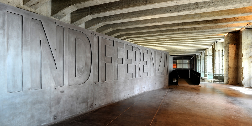 Milan Memorial of the Shoah to the platform 21 © Alberto Jona Falco