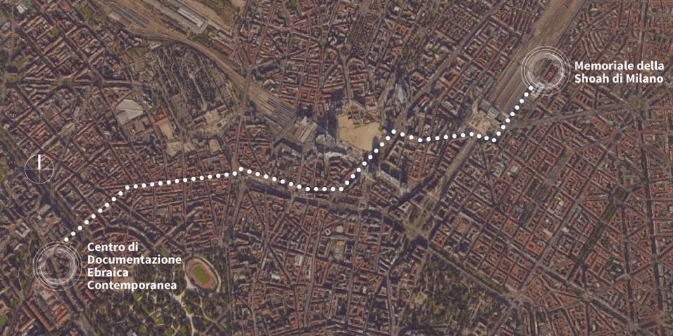 cartina Milano