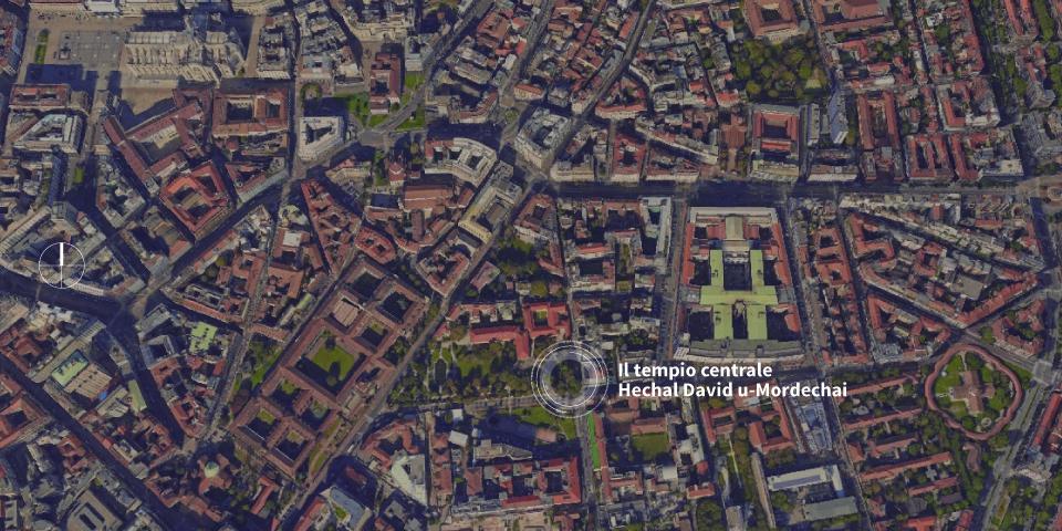 map Milan European metropolis