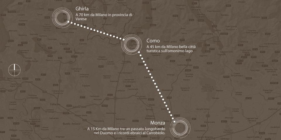 mappa grafica monza como ghirla