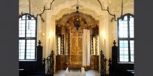 Mantova armadio sacro interno sinagoga © Alberto Jona Falco