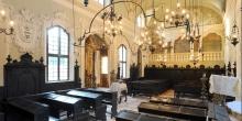Mantova interno sinagoga © Alberto Jona Falco