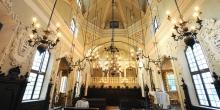 Mantova soffitto interno sinagoga © Alberto Jona Falco
