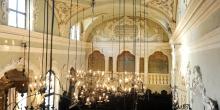 Mantova vista dall'angolo del matroneo interno sinagoga © Alberto Jona Falco