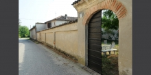 Ostiano, entrance of the cemetery © Alberto Jona Falco