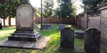 Pomponesco interno del cimitero vista dal fondo © Alberto Jona Falco