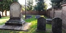 Pomponesco, interior of the cemetery seen from the bottom © Alberto Jona Falco