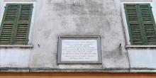 Pomponesco, plaque in memory of Cantoni © Alberto Jona Falco