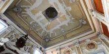 Rivarolo Mantovano, the inner ceiling of the synagogue © Alberto Jona Falco