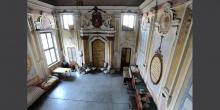 Rivarolo Mantovano interno della sinagoga vista dal matroneo © Alberto Jona Falco