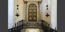 Sabbioneta l'armadio sacro della sinagoga © Alberto Jona Falco