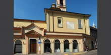 Broni, edificio sulla via Emilia © Alberto Jona Falco