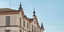 Broni, il palazzo comunale, particolare © Alberto Jona Falco