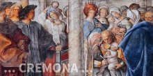 Cremona, fresco in the Cathedral with circumcision, detail © Alberto Jona Falco