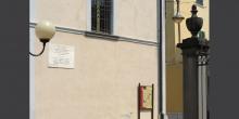 Iseo, lapide nella zona dell'antico ghetto © Alberto Jona Falco