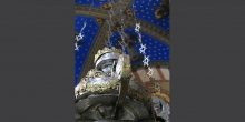 Soncino, parish church of Santa Maria Assunta, oil-lamp with Jewish ornamental motifs © Alberto Jona Falco
