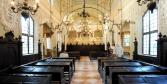 Detail of the interior of the synagogue, Mantua  © Alberto Jona Falco